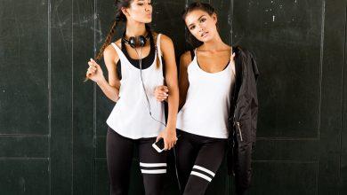 girls in activewear